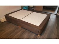 Double bed with storage, good condition