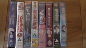 Children's VHS tapes