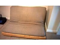 Double futon, made by Futon Company, VGC