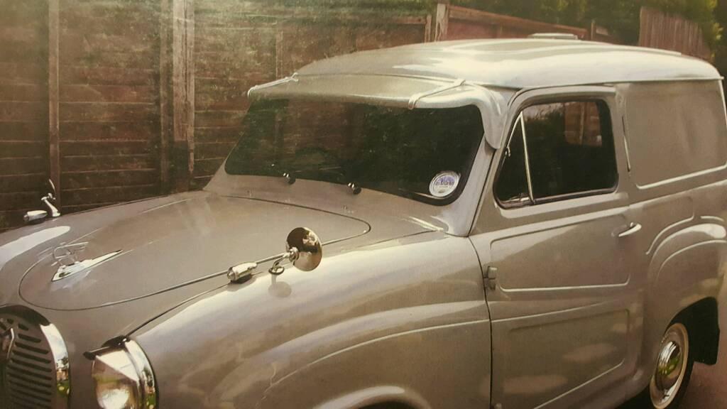 Classic car Austin A30-35 sun visor  cc454854504