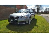 AUDI A4 AVANT 2006 2.0 TDI STARTS FIRST TIME EXCELLENT CONDITION ONLY 95K ON ENGINE BARGAIN £2295