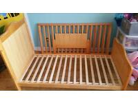 FREE cot bed with mattress 140x70