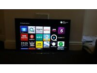 "Sony KDL-42W705B 42"" 1080p HD Smart LED TV Television With Stand & Remote 100%"