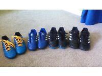 childrens addidas trainers and clarkes shoes