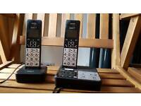 IDect S2i twin phones with answering machine