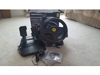 Thrustmaster Ferrari GT Experience Racing Wheel & Pedals - PS3 / PC