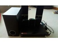 LG 5:1 SURROUND SYSTEM WITH DVD PLAYER LGHT303PD