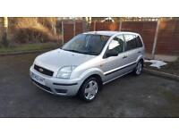 LOW MILEAGE Ford Fusion3 1.6, 60k miles, Full MOT, Cam belt & Pump done, Great condition