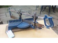 MYTRE SAW..BARGAIN..PLEASE VIEW MY OTHER 80 GREAT ITEMS AS SELLING HOUSE CONTENTS DUE TO MOVING