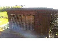 For sale custom made dog kennel
