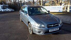 Subaru Legacy Estate 2.5 petrol manual.