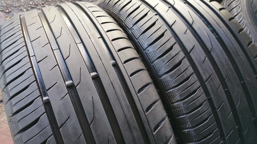 215 50 17 2 x tyres TOYO Proxes CF2