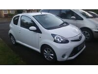 2013 Toyota Aygo Mode, FSH, MoT 9/18, Air con, AUX slot, low insurance, unmarked condition