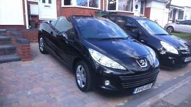 Peugeot 207 CC Black Cabriolet for Sale don't miss this one