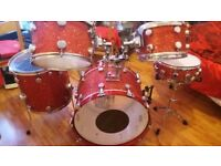 drum kit*****hayman***mapex****all stand and solar sabian cymbals*****