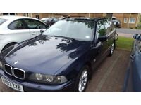 Bmw 5 series blue fully automatic