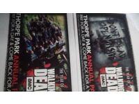 Thorpe Park Tickets x2 30th July