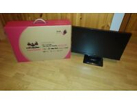 ViewSonic VX2363SMHL 23-Inch FHD SuperClear IPS LED Monitor (Black) **Excellent condition**