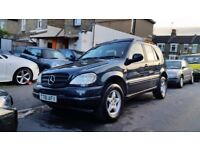 MERC ML320 AUTOMATIC 7SEATER T REJ 1999 3P/OWNER 89000 MILES S/HISTORY LEATHER H/SEAT E/SEAT AC