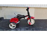 Red and Black Dash Tiger 3 in 1 trike