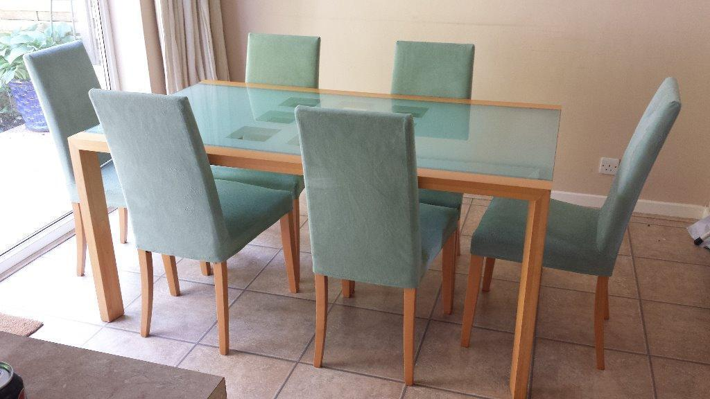 Ligne Roset Extensia table and 6 chairs | in Copthorne, West ...
