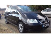 VW SHARAN 1.9TDI AUTOMATIC,1OWNER FROM NEW FSH 57 PLATE, 7 SEATER, LOOKS AND DRIVES GOOD PX??
