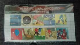 Royal mail mint stamps. THE Olympic and Paralympic Games on track for 2012