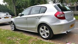 BMW 1 SERIES 120D SE SILVER 1 OWNER FROM NEW