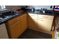 Kitchen in maple for sale