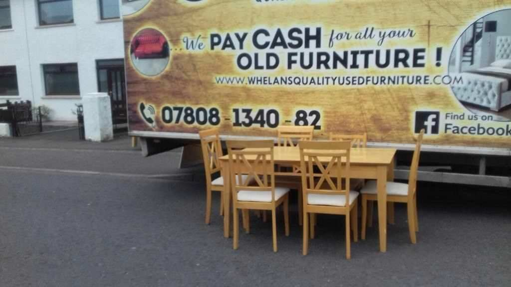 Beechwood Dining Room Table And 48 Chairs £48 Mint Mint Condition New Beechwood Furniture Exterior