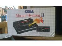 boxed sega master system 2 mint