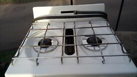 calor gas 700 oven and 2 hob cooker