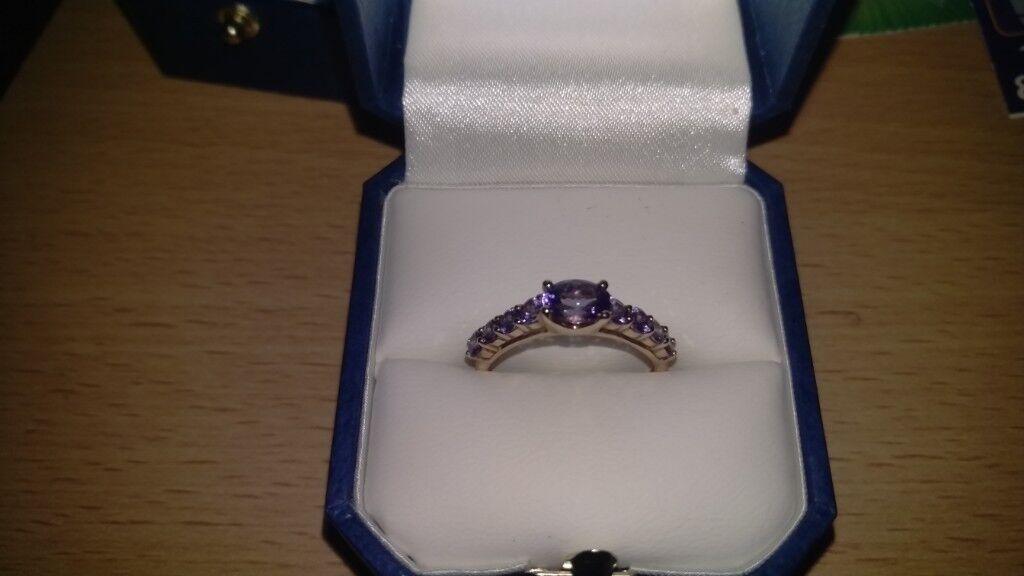 9ct Gold Tanzonite Ring In Linwood Renfrewshire Gumtree