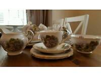 Vintage bone china tea set
