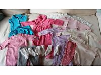 John Lewis / Gap / Tommy Hilfiger / Ralph Lauren Clothes Bundle for Baby Girl - 3-6 months