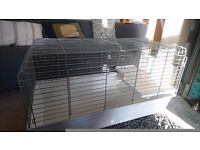 Guinea pig or rabbit indoor cage size 100. Clean and in very good condition