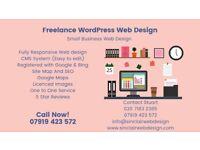Freelance WordPress Web Design /Small Business Web Development