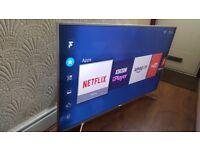 HISENSE 55-inch 55M7000 ULTRA SLIM UHD 4K HDR Smart LED TV,built in Wifi,Freeview HD & FREESAT HD
