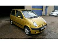 Daewoo matiz only done 38k long mot til Feb 2018 (not corsa clio picanto punto astra)