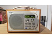 Pure Evoke-1S DAB Radio Maple Finish