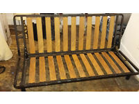 Futon Company double wooden futon frame - Mattress NOT included