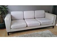 Sofa back on sale via new buyer as didn't fit in their flat! £80: Large, designer sofa.