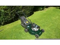 Hayter motif 21 cut self propelled mower with a Honda engine