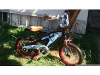 Bike 16 inch Boy Spider man