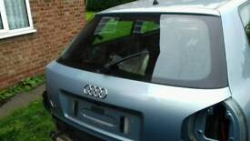 Audi A3 boot lid