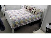 Double bed frame Shabby chic