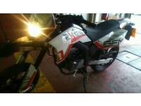 Sfm 125 motorbike. Good condition. 12 month MOT.