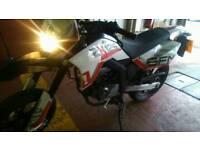 Sfm 125 motorbike. Good condition. 12 month MOT.