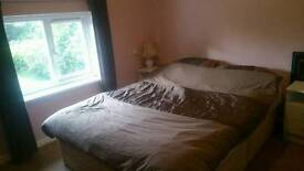 Double room for rent to single person