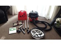 Henry micro hoover new pipe ,filter,attachments